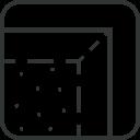 Icône bords pliés - BOMAT | Tapis de Luxe, Sols en Moquette et Chemins d'Escalier Belges